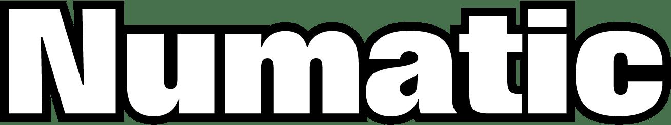 Cadeau Kompas numatic letters logo
